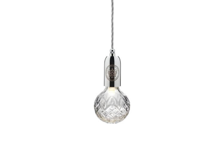 Lee Broom Clear Crystal Bulb Pendant – Polished Chrome