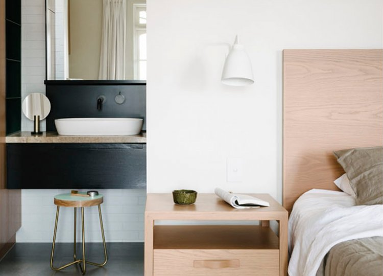 Bedroom: Minimal Luxe Terrace by Fiona Lynch