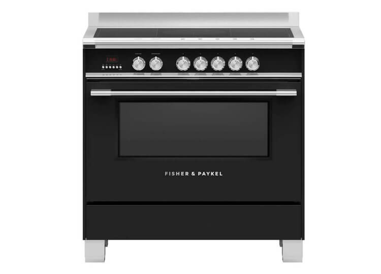 Fisher & Paykel Series 9 | 90cm Induction Cooker (Black)