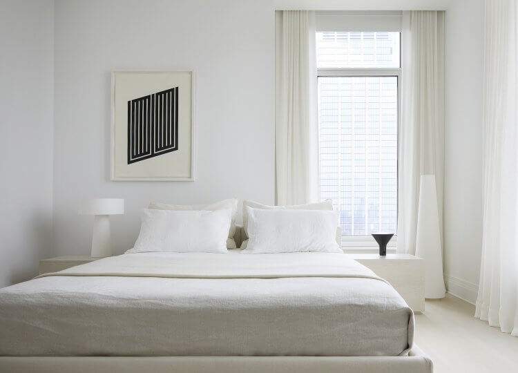 Bedroom | Four Seasons Residence Bedroom by Magdalena Keck Interior Design