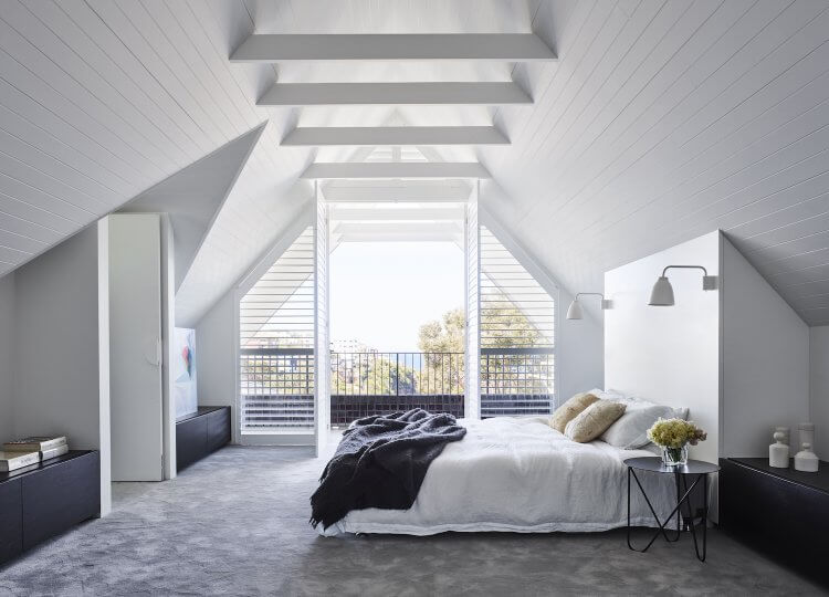 Bedroom | Attic House Bedroom by Madeleine Blanchfield Architects