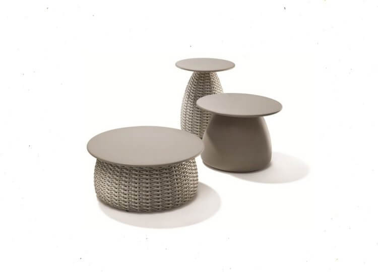 DEDON PORCINI Coffee and Side Tables