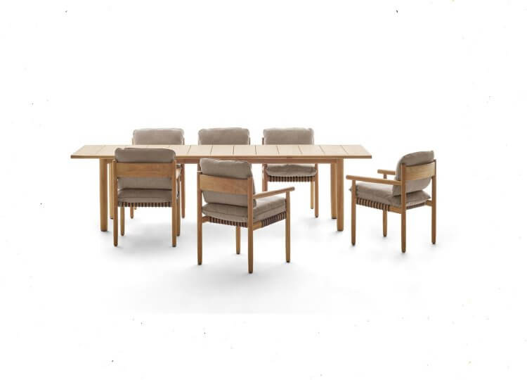 DEDON TIBBO Dining Table