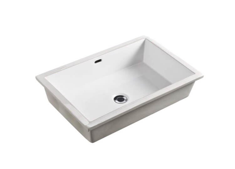 Oslo Undermount Rectangle Basin Oliveri