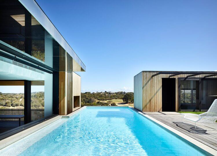 Pools & Pool Pavilions | The Clubhouse Pool by Wolveridge Architects