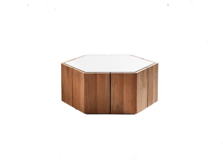 Tribu Hexagon Low Table Cosh Living