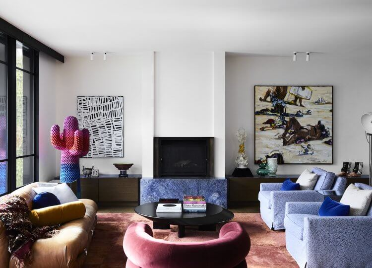 Living | Prahran Residence Living Room by Flack Studio