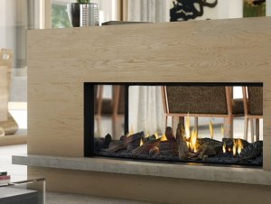 Escea DS1150 Gas Fireplace (Double Sided)