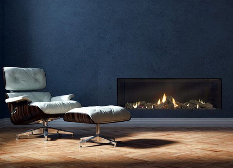 Escea DS1400 Gas Fireplace (Single Sided) Stoke