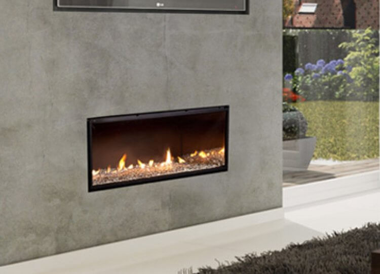 Escea DX1000 Gas Fireplace (Single Sided)