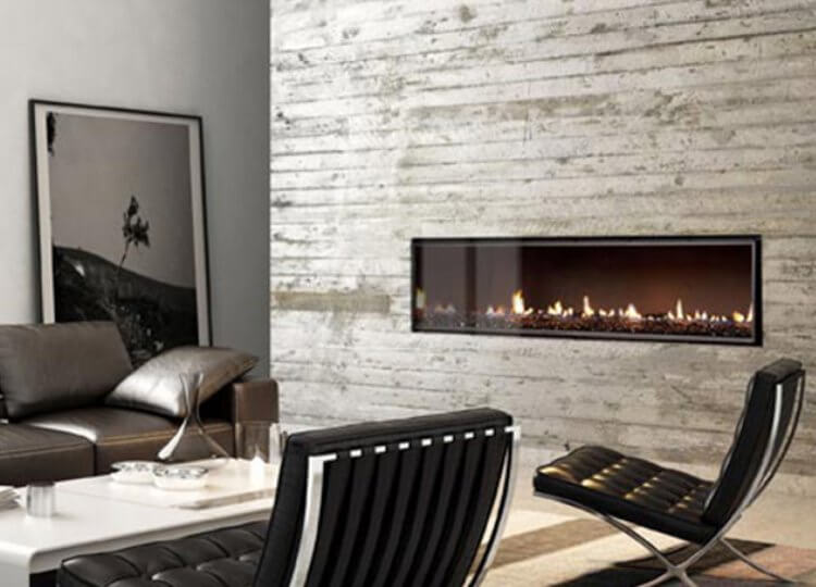 Escea DX1500 Gas Fireplace (Single Sided) Stoke