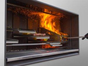 Escea EK950 Outdoor Fireplace Kitchen