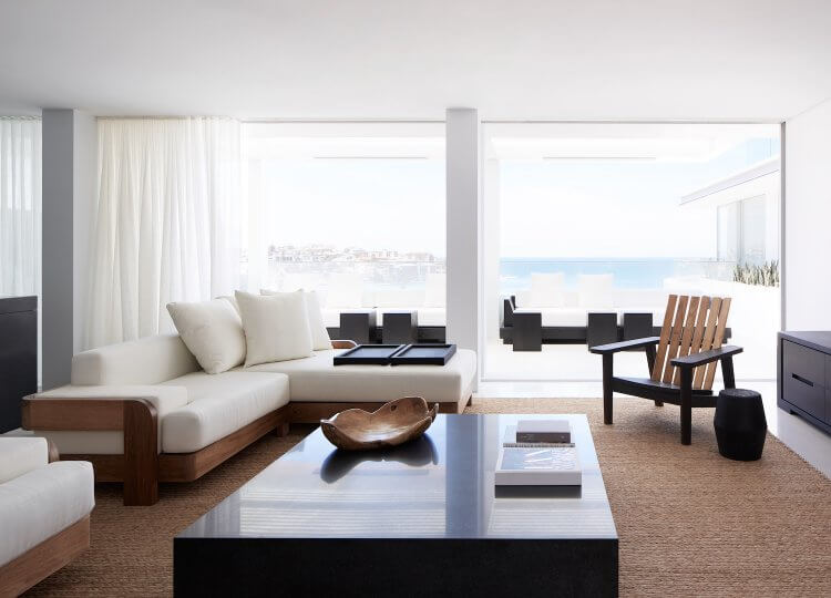 Living | Bondi Beach Apartment Living Room by Mathieson Architects