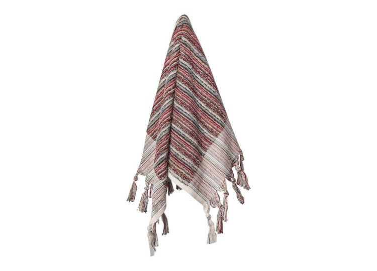 Berry Stripe Hand Towel Loom Towels