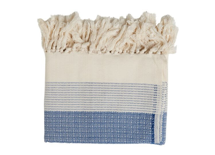 Loom Pestamal Blue Towel