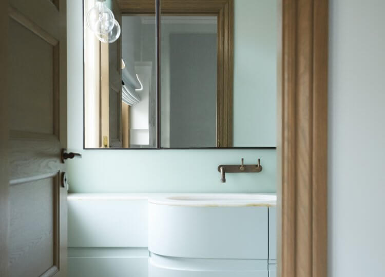 Bathroom 1 | The Home of Camilla Freeman-Topper by Alwill Interiors and LRA