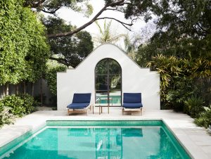 Pools & Pool Pavilions | The Home of Camilla Freeman-Topper by Alwill Interiors and LRA