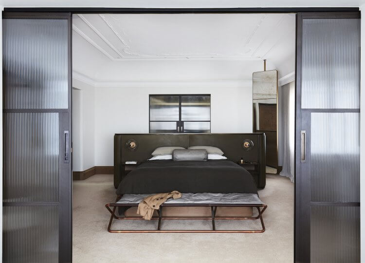 Bedroom | The Bedroom of Camilla Freeman-Topper by Alwill Interiors and LRA