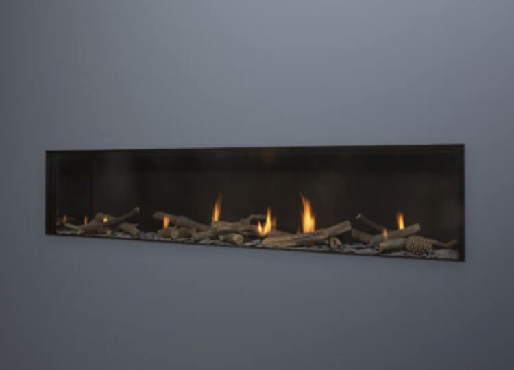 Escea DS1900 Gas Fireplace (Single Sided) Stoke