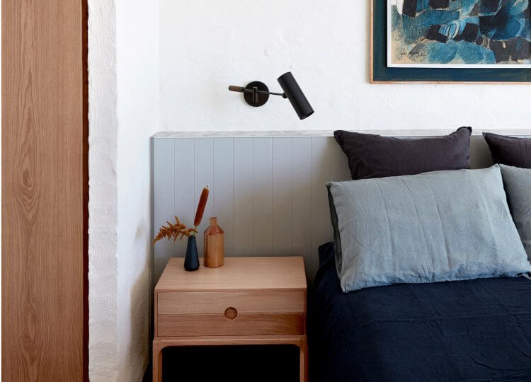 Bedroom | Portsea Beach House by Studio Esteta