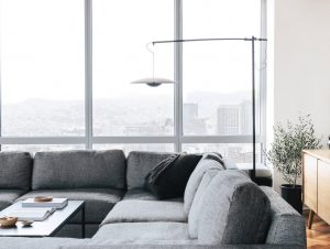 Living 2 | A Japanese Inspired Apartment Living Room by Erin Roberts