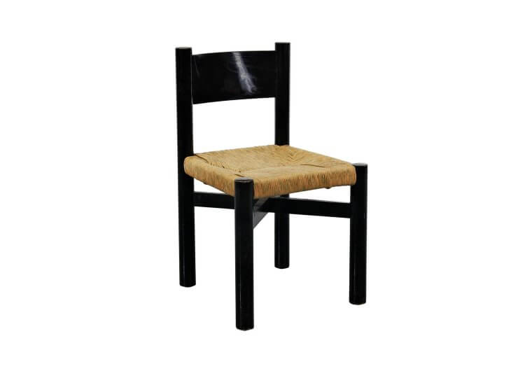 Low Meribel Chair Charlotte Perriand