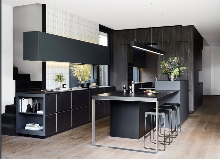 Kitchen | The Personalised Kitchen Inside a Hawthorn Family Home