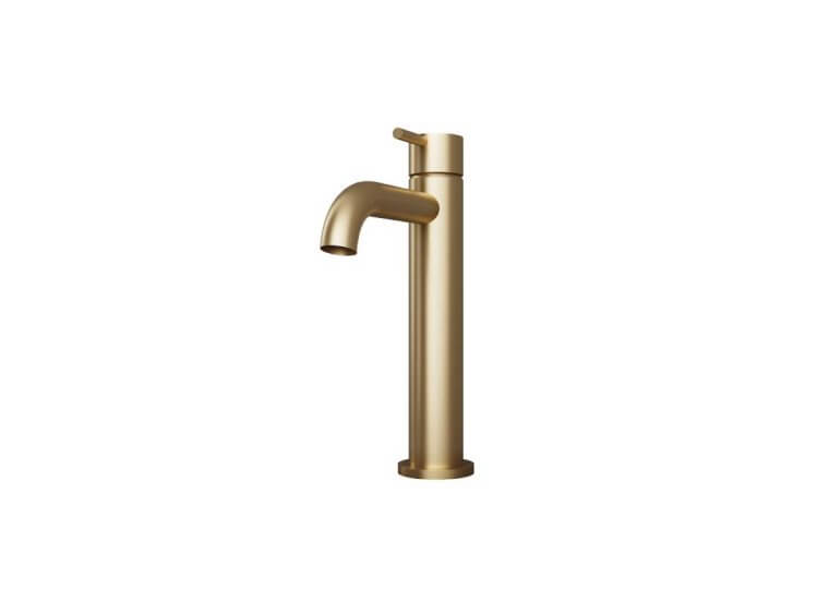 Tura Hob Mounted Tall Basin Mixer Pittella