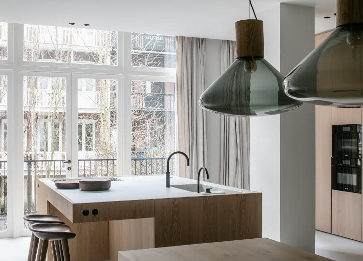 Kitchen | The Neutral House Kitchen by Studio Niels