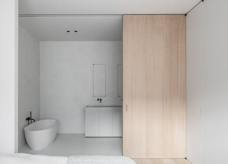 Bathroom | The Neutral House Bathroom by Studio Niels