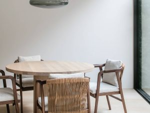 Dining | The Neutral House Dining Room by Studio Niels