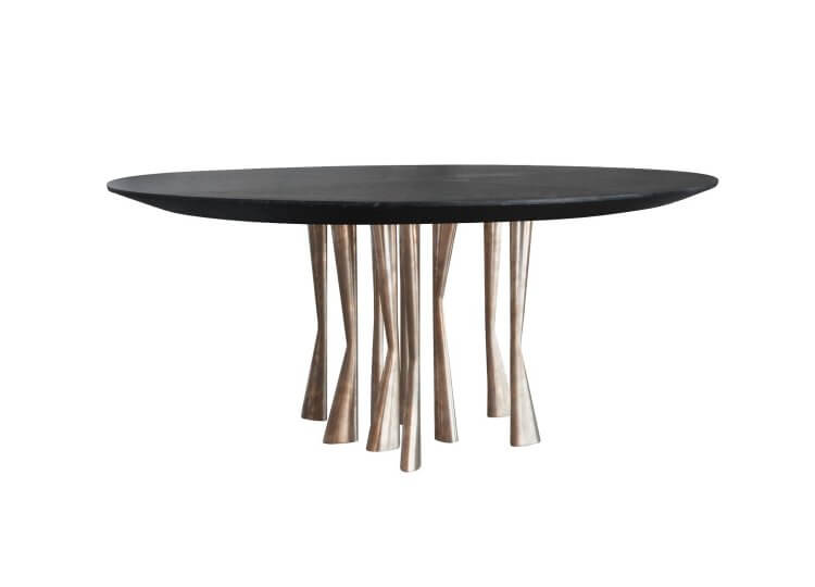 Dylan Farrell Antler Table Est Lighting