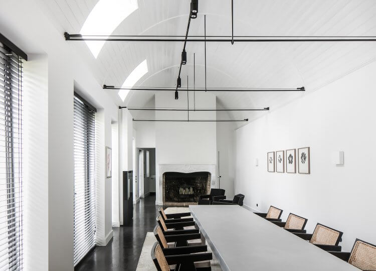 Dining | Monochrome House Dining by Studio Niels