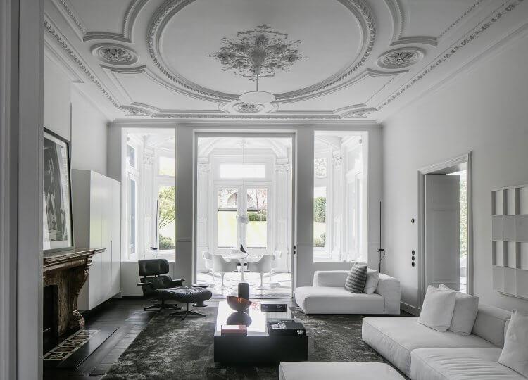 Living | Monochrome House Living by Studio Niels