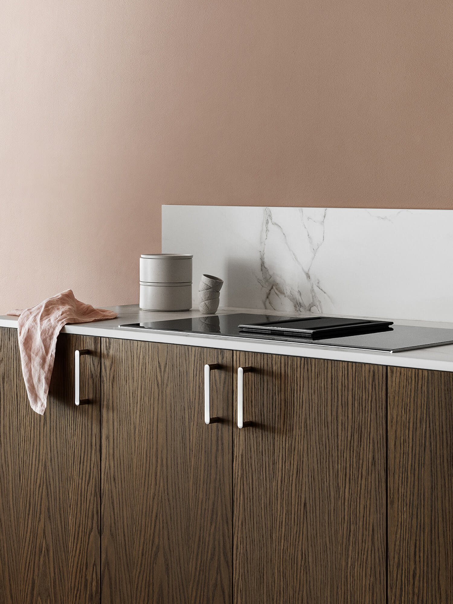 est living nordic style kitchen nordiska kok food pharmacy pink