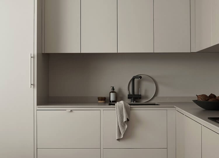 Kitchen | The Minimalist's Kitchen by Nordiska Kök