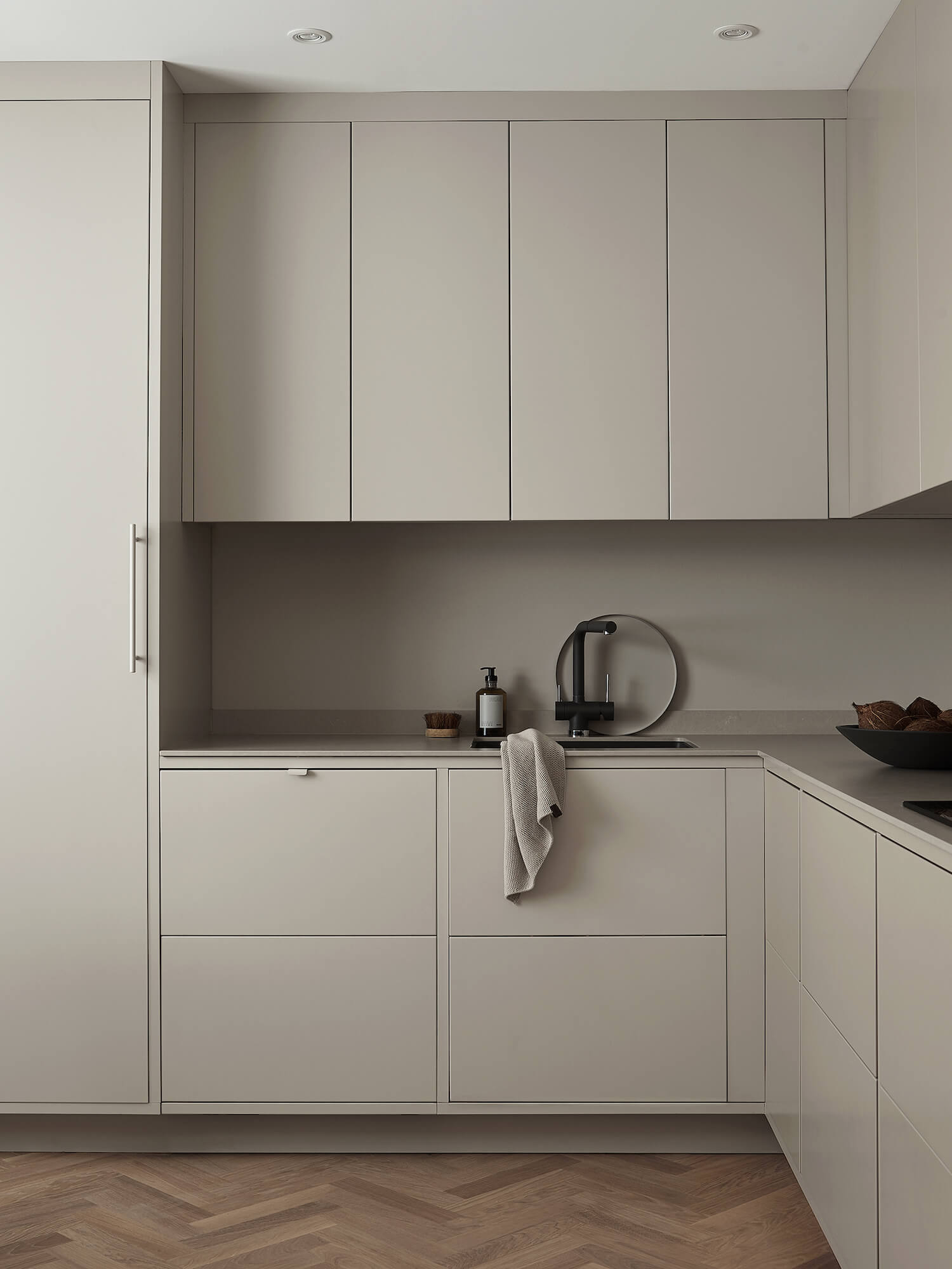 est living nordic style kitchen nordiska kok grey minimalist kitchen