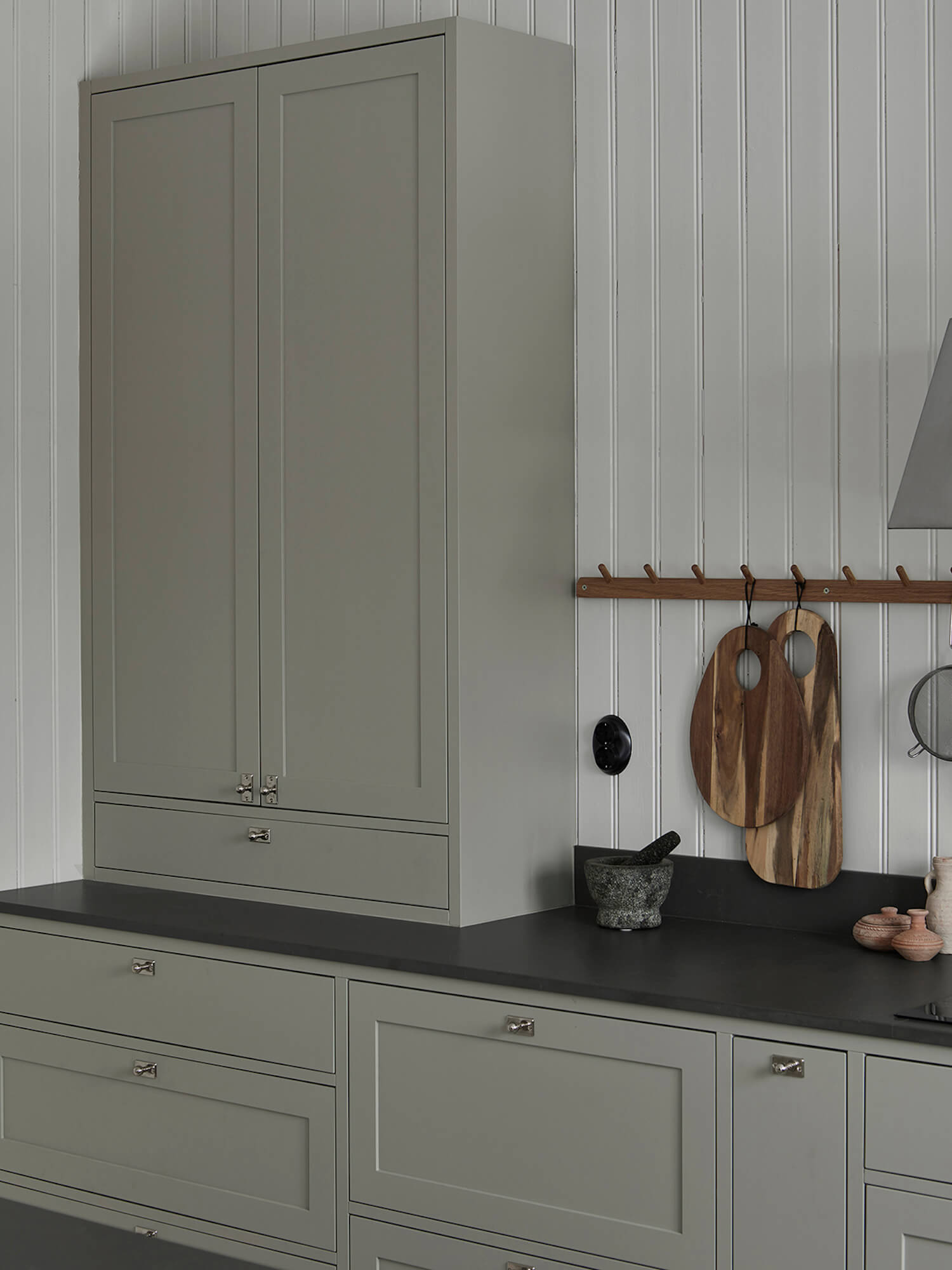 Grey Shaker Kitchen by Nordiska Kok | Designing a Nordic-Style Kitchen