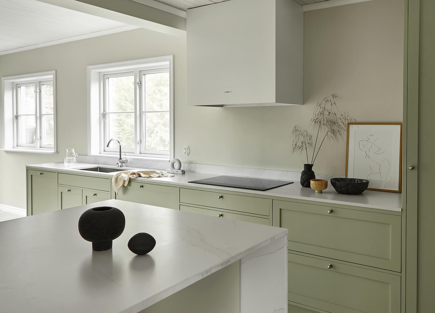 est living nordic style kitchen nordiska kok stylein kitchen island