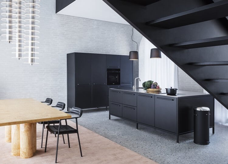Kitchen | The Vipp Chimney House Kitchen by Studio David Thulstrup