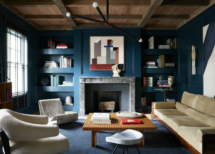 Living 1 | Watch Hill House Living Room by Studio Giancarlo Valle