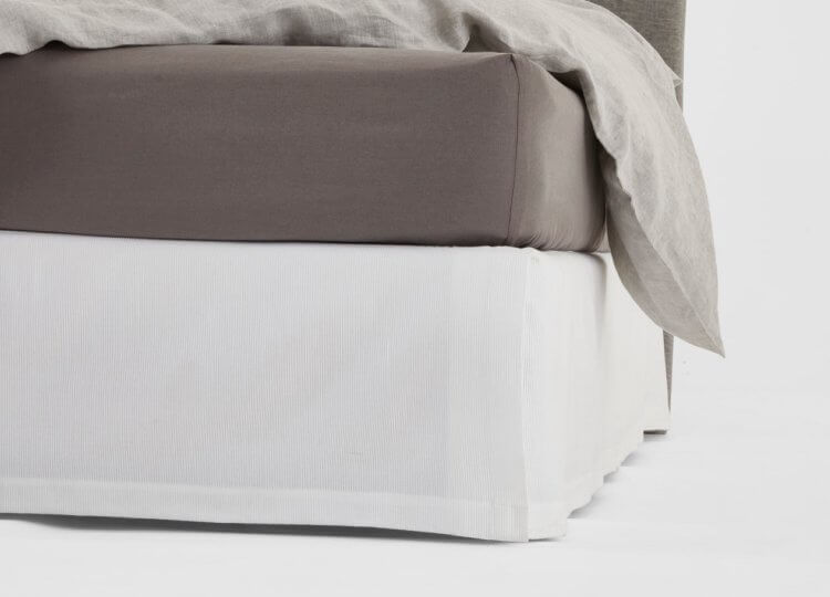 Abode Queenscord Bed Skirt