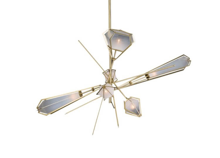 Gabriel Scott Harlow Large Chandelier Est lighting
