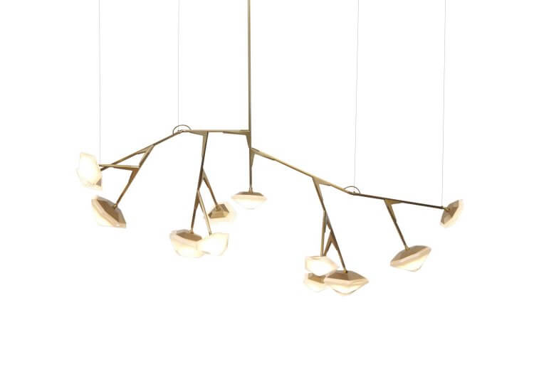 Gabriel Scott Myriad Long Chandelier
