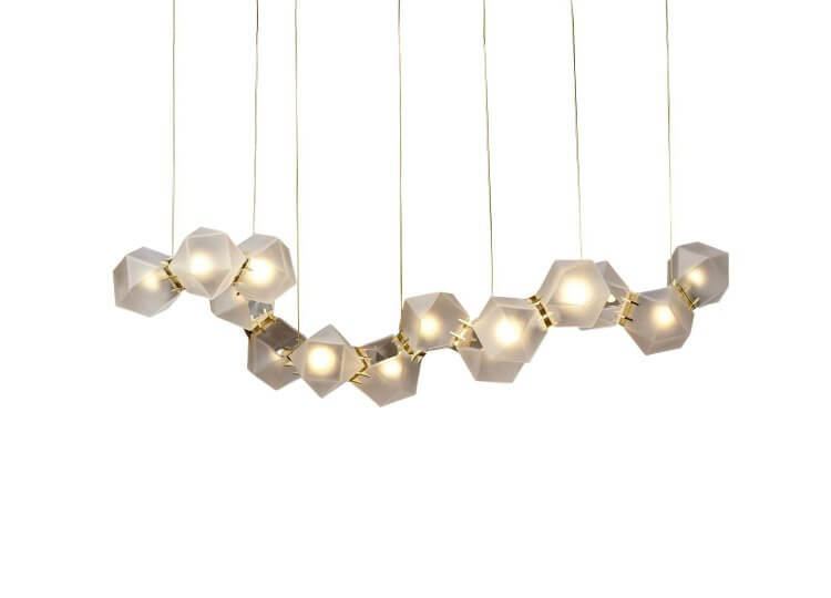 Gabriel Scott Welles Glass Chandelier