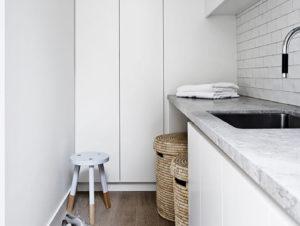 Laundry | Portsea Hideaway by Mim Design