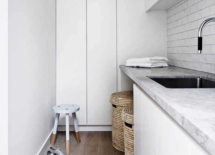 Laundry | Portsea Hideaway by Mim Design