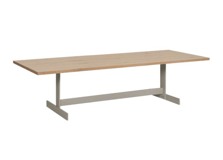 Kazimir Table in Silk Grey