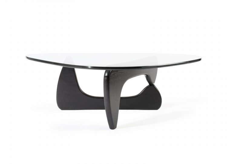 est living Noguchi Coffee Table in Black Ash Vitra 01 750x540