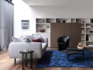 Living | Arno Residence Living Room by Adele Bates